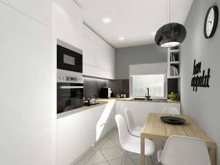 Kuchnia: styl , w kategorii Kuchnia zaprojektowany przez ZA-ARCHITEKT