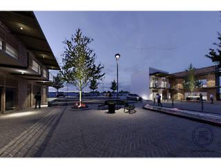 Plaza Comercial Santiaguito Espacios comerciales de estilo moderno de Taro Arquitectos Moderno