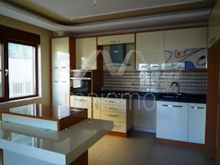 Majestik Mutfak & Mobilya Modern kitchen MDF Beige