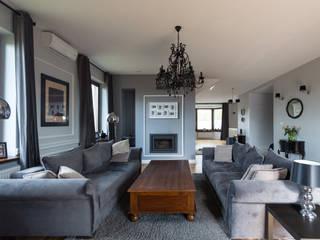 Гостиная в стиле модерн от En Casa Premium Real Estate Модерн