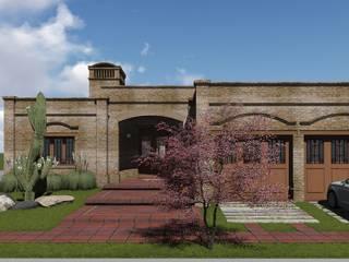 CASA BA: Casas de estilo  por ARBOL Arquitectos