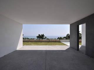 Modern garage/shed by 門一級建築士事務所 Modern