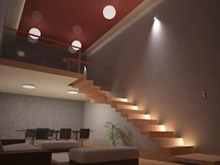 Base cubica Arquitectos Moderne Arbeitszimmer