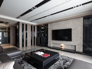 Modern living room by IDR室內設計 Modern