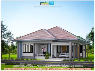 แบบบ้านชั้นเดียว HPI-01A:   by แบบแปลนบ้านสำเร็จรูป
