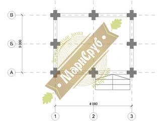 """Деревянная беседка с декоративными вырезами """"Улыбка"""" Балкон и терраса в классическом стиле от Марисруб Классический"""