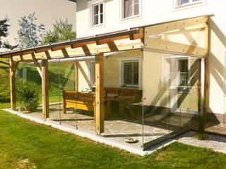 Schmidinger Wintergärten, Fenster & Verglasungen 溫室 木頭 Brown