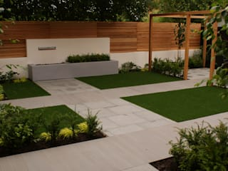 Garden Design Didsbury by Hannah Collins Garden Design Сучасний