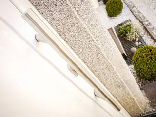 Fenster & Haustüren aus Kunststoff und Aluminium in Ottensheim montiert von Fenster-Schmidinger Schmidinger Wintergärten, Fenster & Verglasungen Moderne Fenster & Türen Aluminium/Zink Metallic/Silber