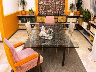 Phòng ăn phong cách chiết trung bởi Dima snc di Maiocchi Dario e c. Chiết trung