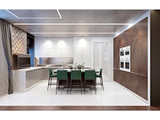 Dining room by BOOS architects