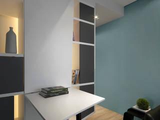Modern corridor, hallway & stairs by 樸暘室內裝修有限公司 Modern