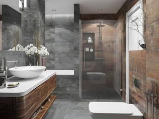 Baños de estilo  por OM DESIGN