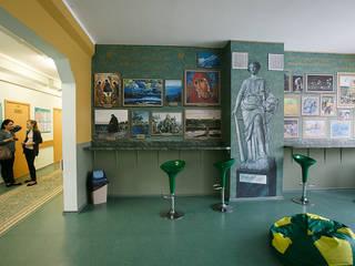 Оформление стен школы № 2089 Школы в эклектичном стиле от 33dodo Эклектичный
