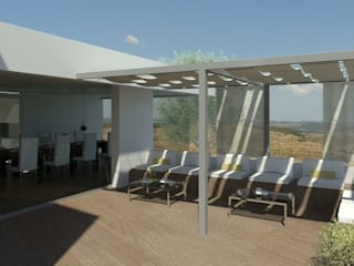 Moradia em Castro Verde: Casas  por 2levels, Arquitetura e Engenharia, Lda