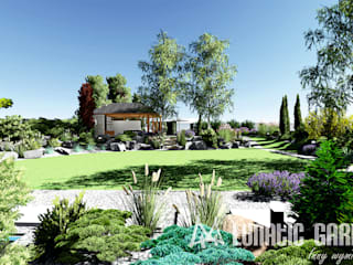 Classic style garden by Lunatic Garden Classic