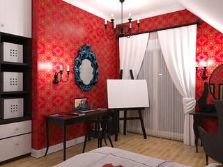 Gotycka komnata: styl , w kategorii Pokój dziecięcy zaprojektowany przez Abrys projektowanie wnętrz