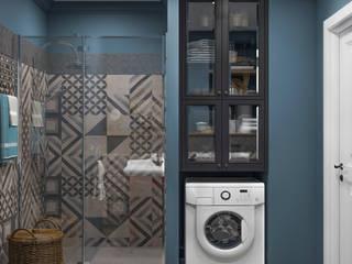 Ванная комната Ванная комната в скандинавском стиле от OM DESIGN Скандинавский