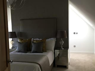 Plot 2 Durward Gardens, Kincardine O'neil, Aberdeenshire Modern Bedroom by Roundhouse Architecture Ltd Modern