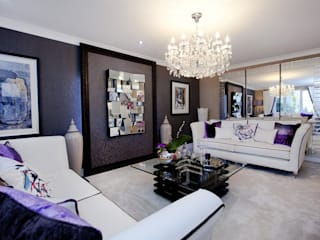 Make every room a new adventure.....:  Living room by Graeme Fuller Design Ltd