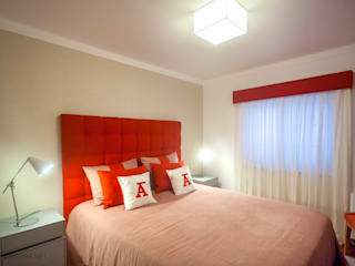Teresa Vazquez - Design de Interiores e Decoração, Lda غرفة نوم Red