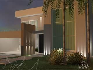 Projeto Arquitetônico e Interiores - R|L Casas modernas por Casa Moderna | Arquitetura . Interiores . Light Design Moderno