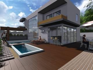 Projekty,  Domy zaprojektowane przez La Tierra Arquitetura
