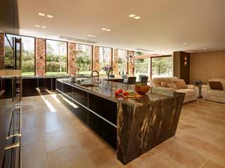 Gold and Black International award winning kitchen:  Kitchen by Diane Berry Kitchens
