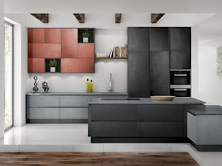 Metallico Metal Lacquer Kitchen Fascias:   by Deseo