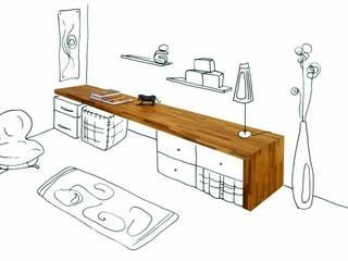 Plan de travail bureau:  de style  par FLIP DESIGN