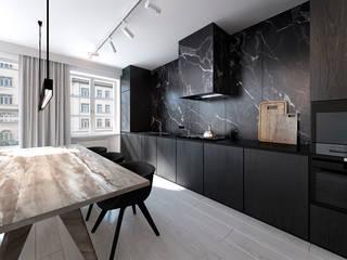 365 Stopni 廚房 石器 Black