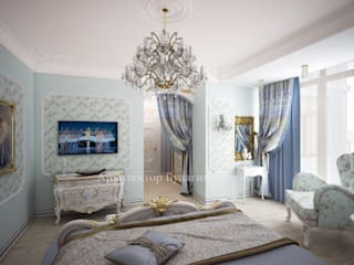 Bedroom by Архитектурное Бюро 'Капитель', Classic