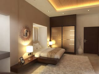 S2A studio Modern style bedroom