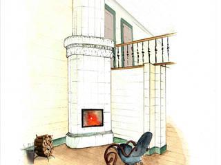 Living room by Анна Морозова, Classic