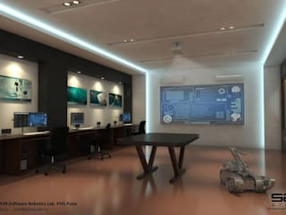 3DPLM Software Robotics Lab Modern schools by S2A studio Modern