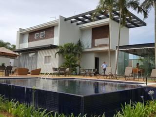 Residência WA Casas modernas por Fontana & Fontana Arquitetura e Urbanismo LTDA Moderno