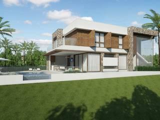 Quitete&Faria Arquitetura e Decoração 現代房屋設計點子、靈感 & 圖片