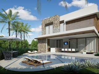 Quitete&Faria Arquitetura e Decoração 泳池