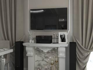 Кухня/Гостиная в классическом стиле Гостиная в классическом стиле от DS Fresco Классический
