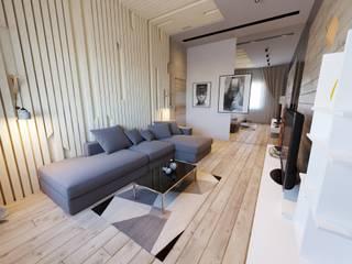 Спальня / лофт Спальня в стиле лофт от DS Fresco Лофт