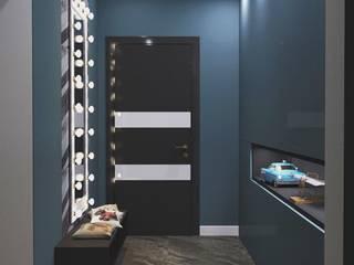 Прихожая/ столовая в лофте Коридор, прихожая и лестница в стиле лофт от DS Fresco Лофт