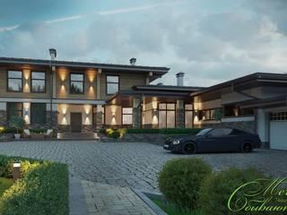 Maisons asiatiques par Компания архитекторов Латышевых 'Мечты сбываются' Asiatique