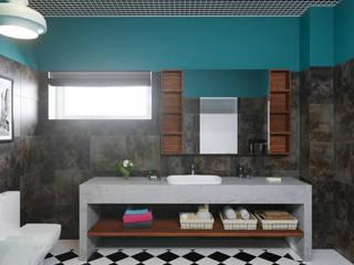 Ванная /лофт Ванная в стиле лофт от DS Fresco Лофт