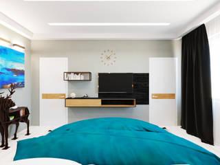 Ванная /лофт Спальня в стиле лофт от DS Fresco Лофт