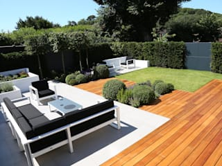 Outdoor Room Jardins modernos por Borrowed Space Moderno