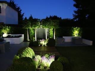 Lighting: modern Garden by Borrowed Space