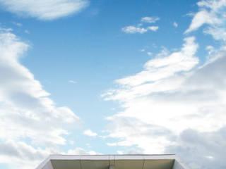 Arqbox Bangunan Kantor Modern Beton Grey