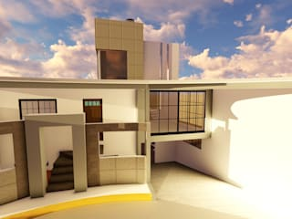 Ampliación y Remodelación :  de estilo  por iA Soluciones de Ingeniería y Aquitectura