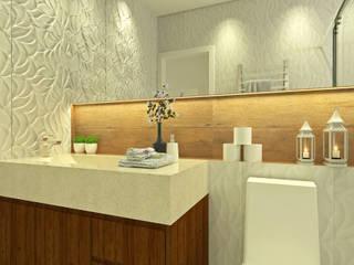 Baños de estilo ecléctico de Bruna Rodrigues Designer de Interiores Ecléctico