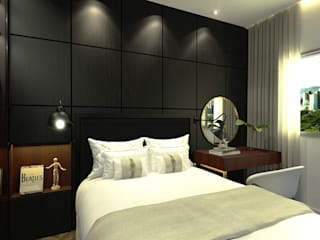 Dormitorios de estilo moderno de Bruna Rodrigues Designer de Interiores Moderno